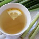 напиток из лемонграсса (лимонника) с лимоном