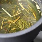заваривание чая из сухой лимонной травы