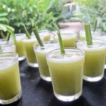 напиток из листьев лемонграсса (лимонника, лимонной травы)