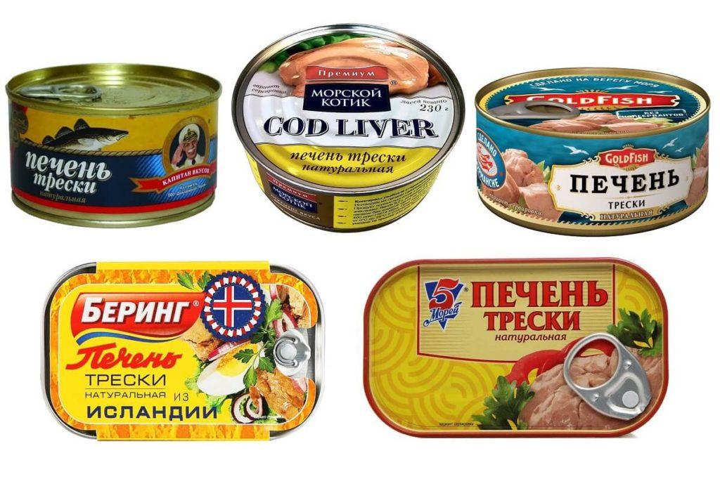 контрольная закупка консервированной печени трески