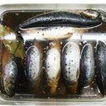 соленая рыба иваси