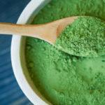 зеленый порошок маття