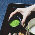 зеленый чай матча для чайной церемонии