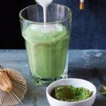 зеленый чай матча с молоком