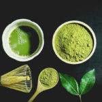 зеленый чай из порошка матча