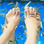 ноги, рыбки гарра руфа