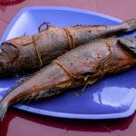 копченая рыба терпуг