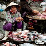 Рыбный рынок во Вьетнаме