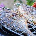готовим рыбу на решетке