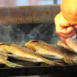 полезная рыба, барбекю