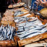 рыба на рынке