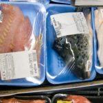 головы и филе рыбы в вакуумных упаковках