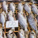 вяленая рыба в продаже