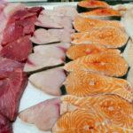 рыбные стейки и филе