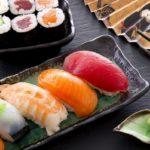 сырая рыба, суши