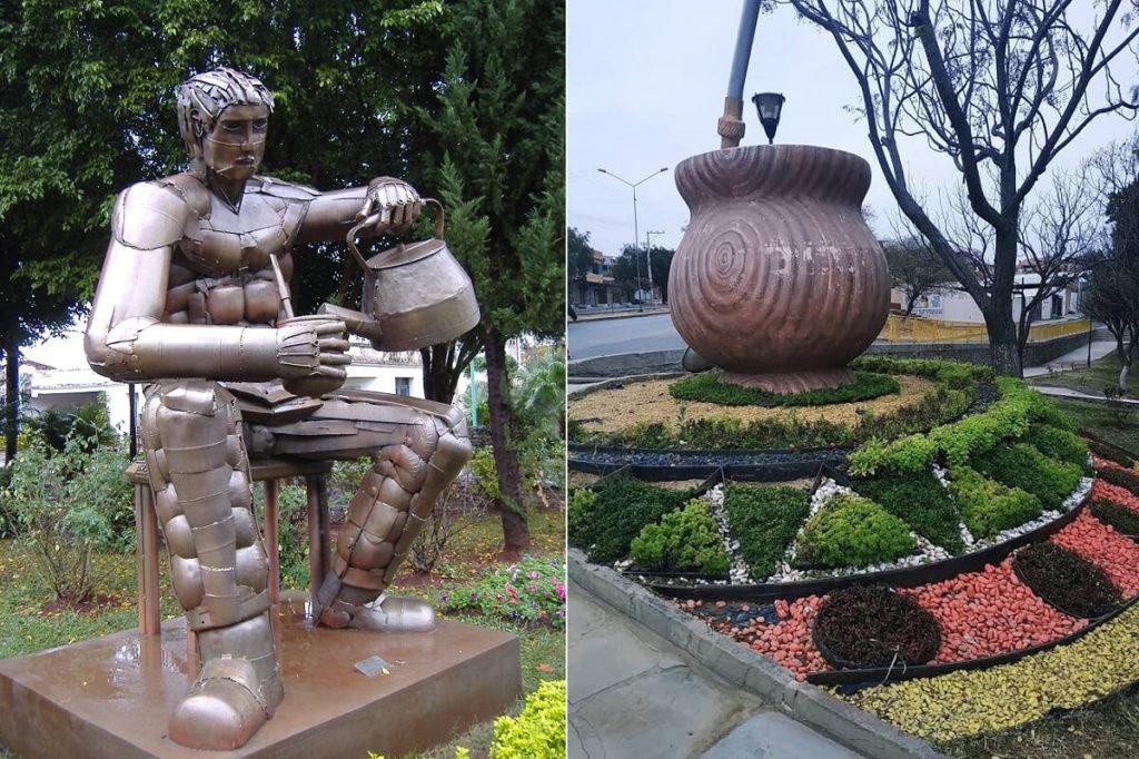 Памятники чаю мате